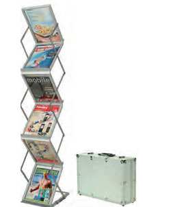 Portable Brochure Holder - uClick Solutions Display Products
