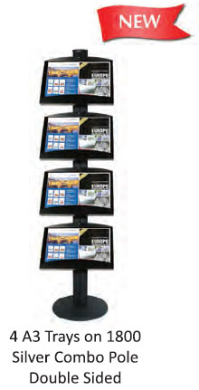 Black 1450 Combo Pole Brochure System - uClick Solutions