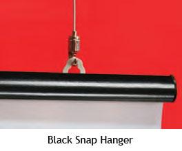 Black Snap Hanger - uClick Solutions