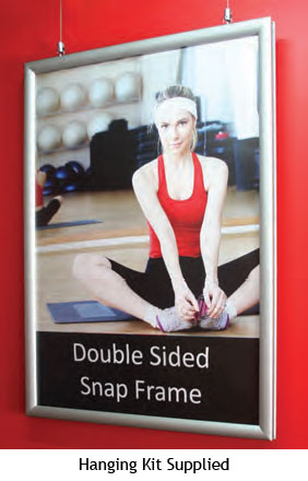 Double Sided Snap Frame - uClick Solutions Display Products