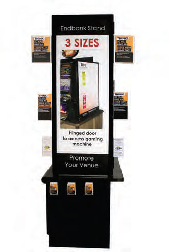 Pokie Talker Left - uClick Solutions DISPLAY PRODUCTS