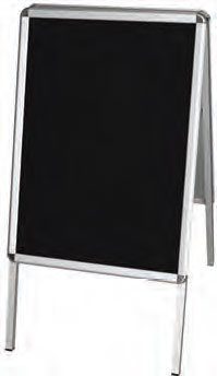 Rounded Frame with Chalkboard Backing - uClick Solutions
