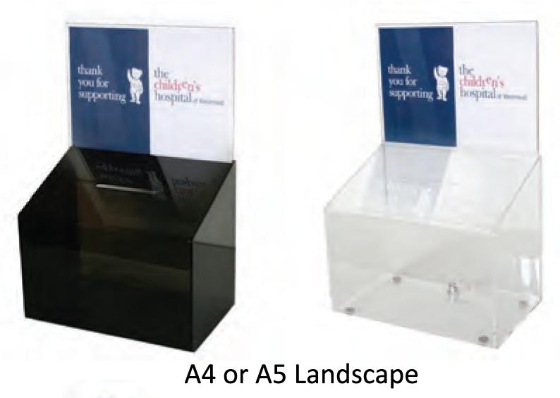 Raffle Barrel, Suggestion Box & Donation Box - uClick Solutions