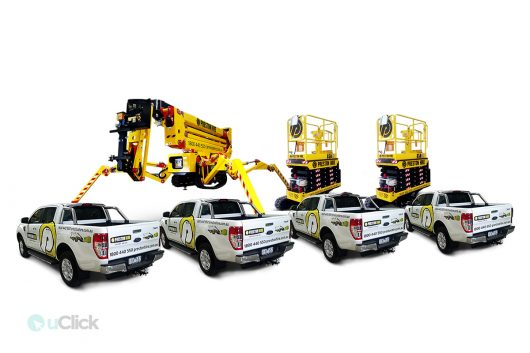 Preston-Hire-fleet-signage | uClick Solutions