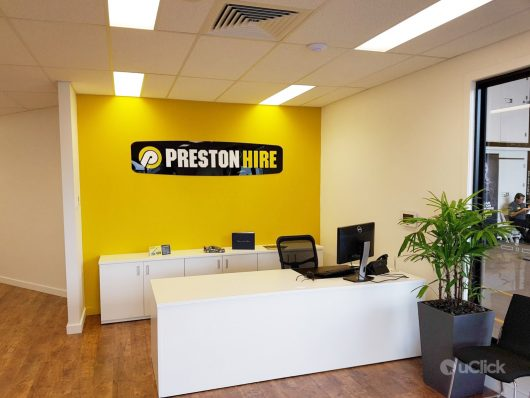 Preston Hire Inside office