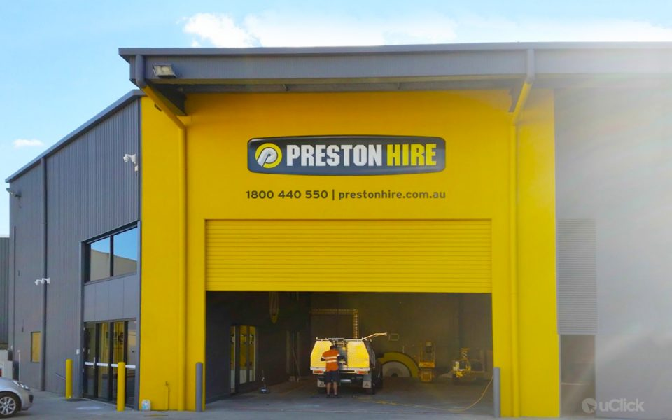 Uclick Solutions Helps Preston Hire Launch Their State of the Art Facility in Brisbane