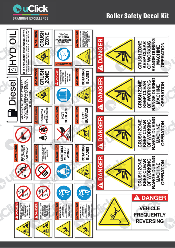 Roller-Safety-Decals-Stickers-Kit