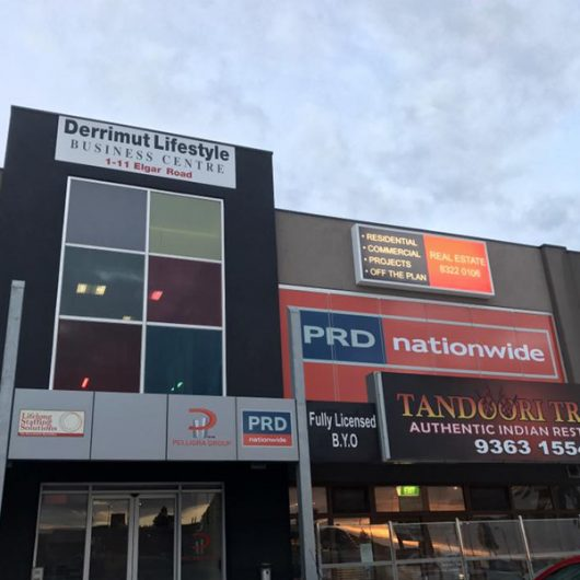 PRD Nationwide commission uClick Solutions for signage and print marketing for their new Derrimut Office